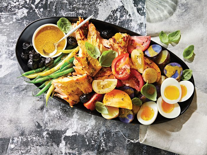 fridge-friendly recipes | Salmon Nicoise