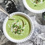 No Stove Required: Chilled Cucumber Avocado Soup
