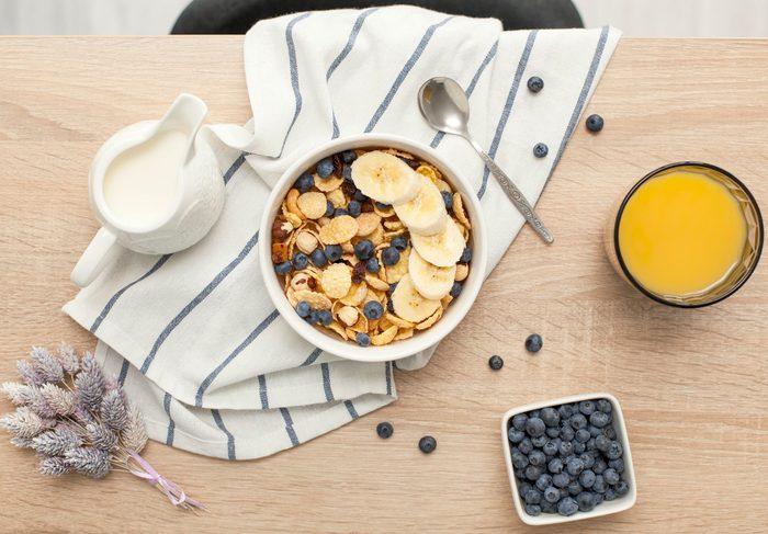 doctors eat for breakfast   breakfast cereal