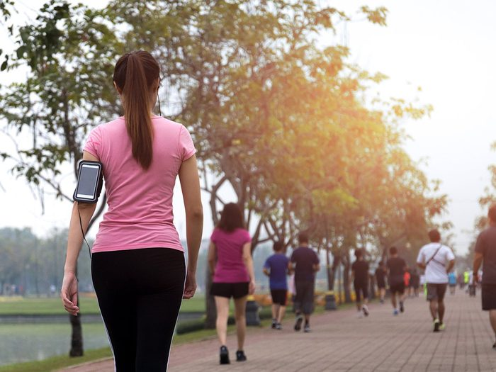 How to make walking less boring - wearable tech