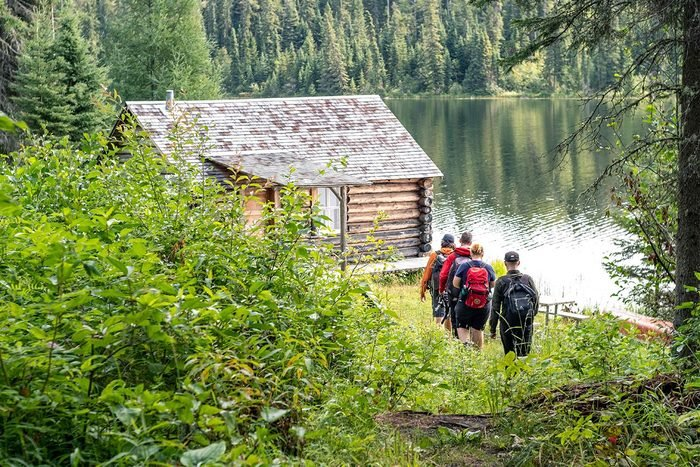 Most famous house in every province - Grey Owl's Cabin