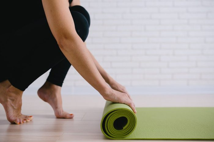 fitness after 50 | yoga class