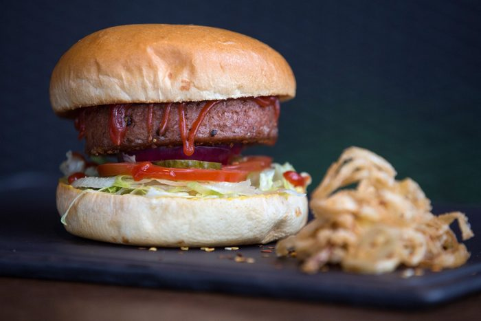healthier grilling ideas | Meat Free Plant Based Burger