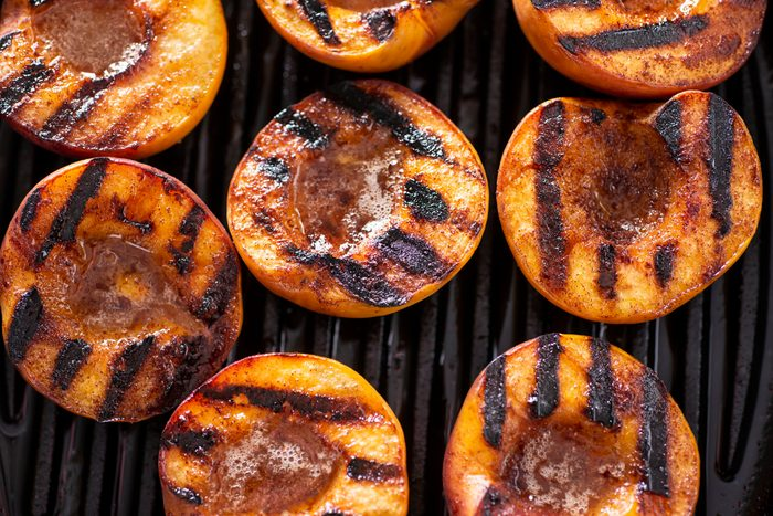 healthier grilling ideas | Grilled Peaches