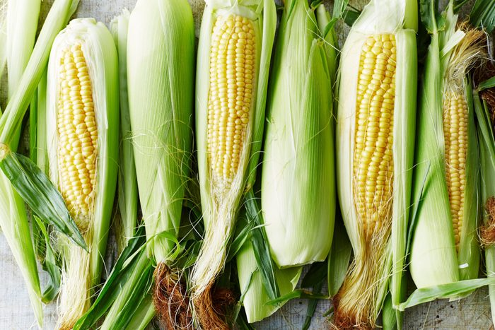 healthier grilling ideas | ears of sweet corn on the cob