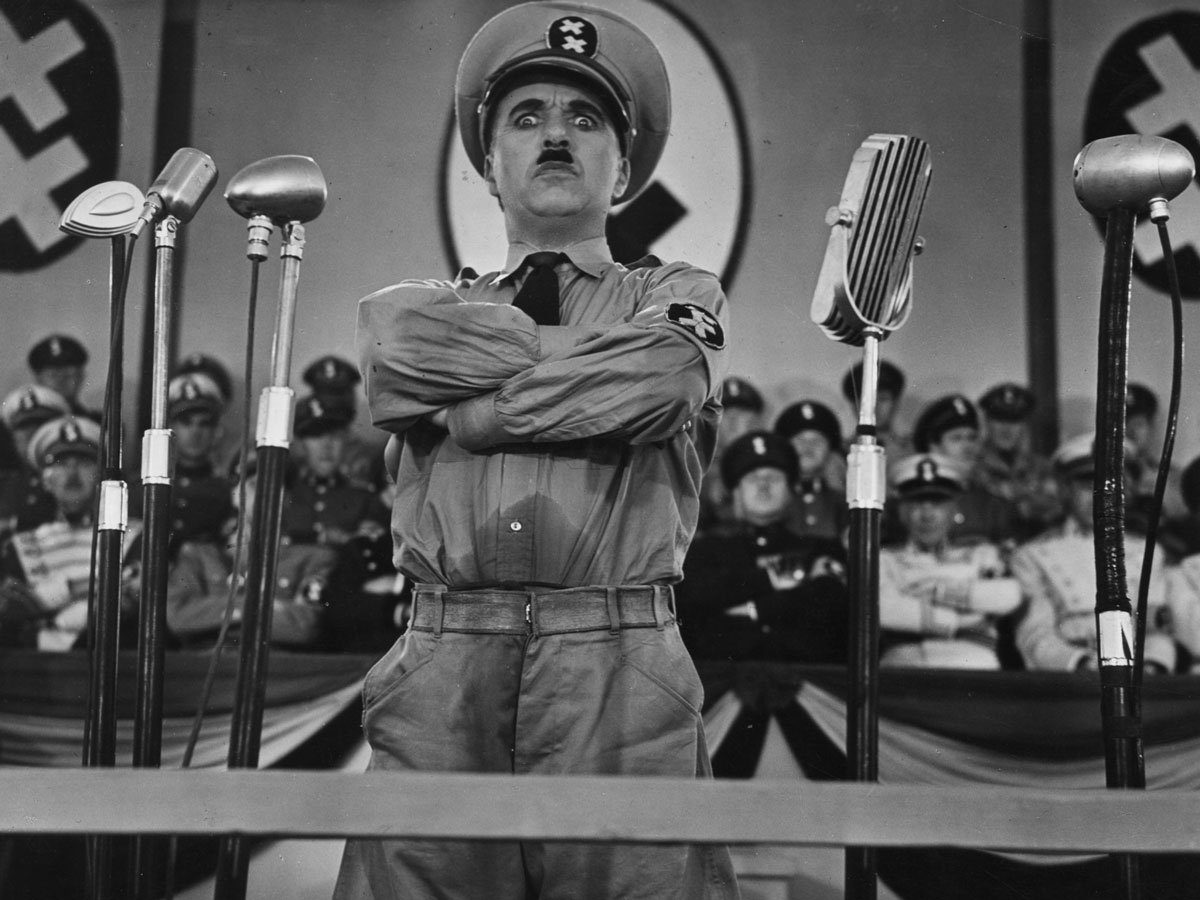 Best comedy movies on Netflix - The Great Dictator