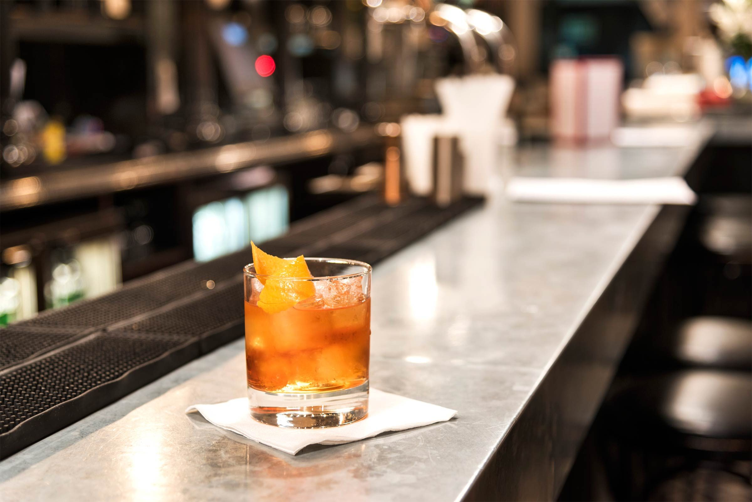 foods that lower your libido   a cocktail sitting on a bar