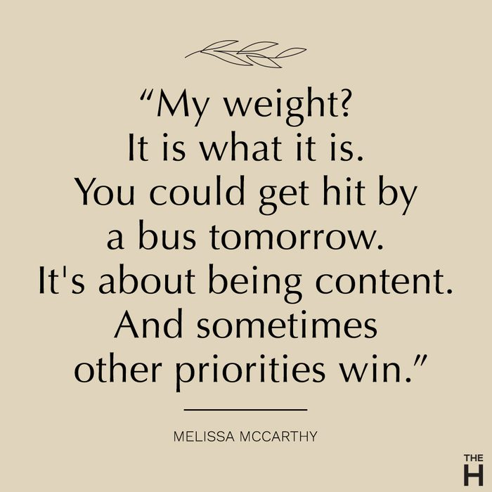 Melissa McCarthy   body-positive quotes