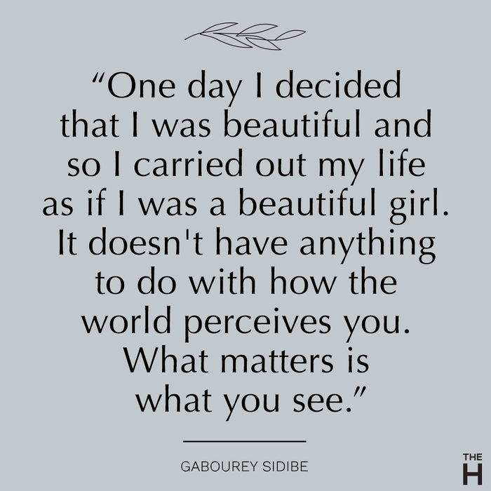 gabourey sidibe  body-positive quotes