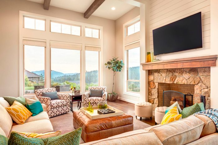 fall allergies | living room