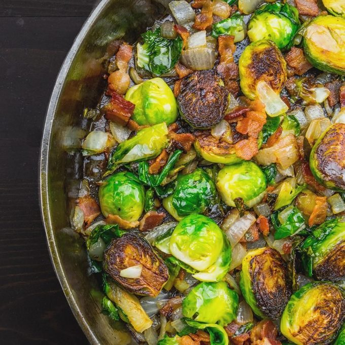 balsamic roasted veggies with toasted tumeria chia seeds