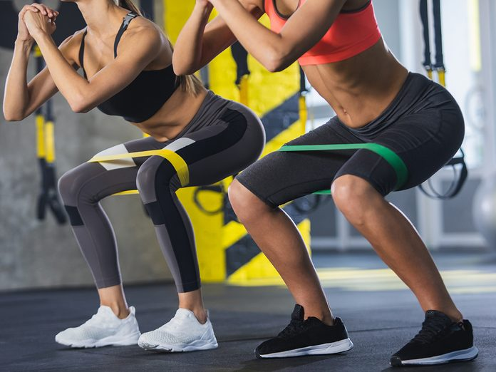 incontinence and exercise | workout } women working out