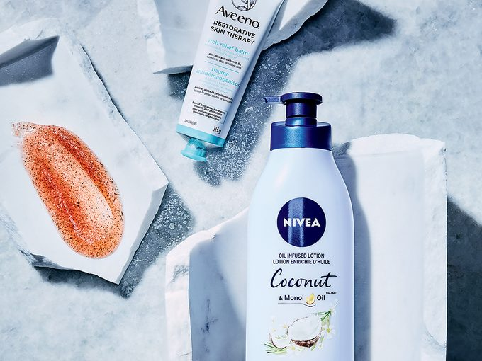 winter skincare tips | photo of three skicnare products for your body this winter
