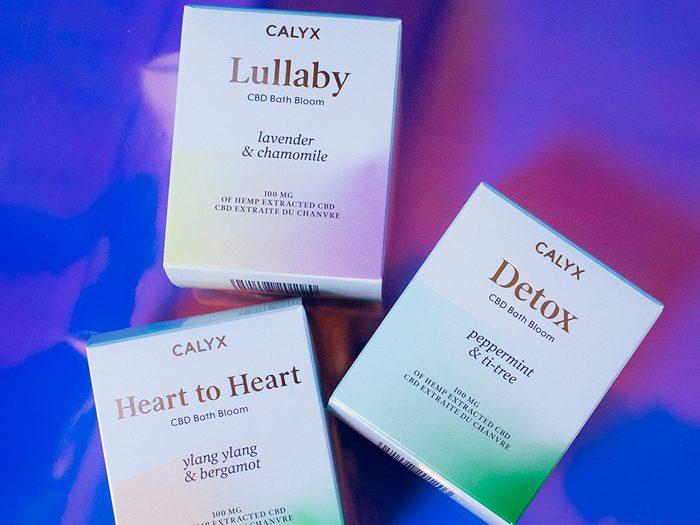 Calyx CBD bath bombs   wellness gifts   best health gift guide