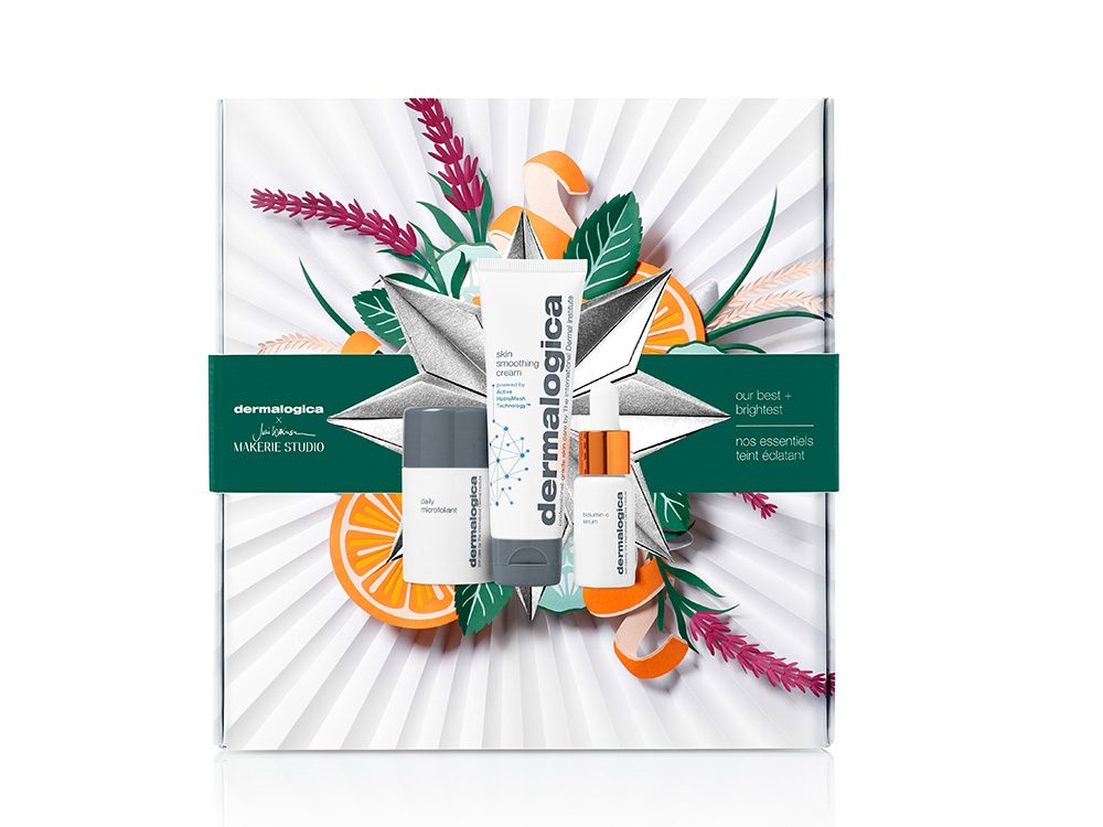 Dermalogica vitamin c holiday set | wellness gifts | best health gift guide