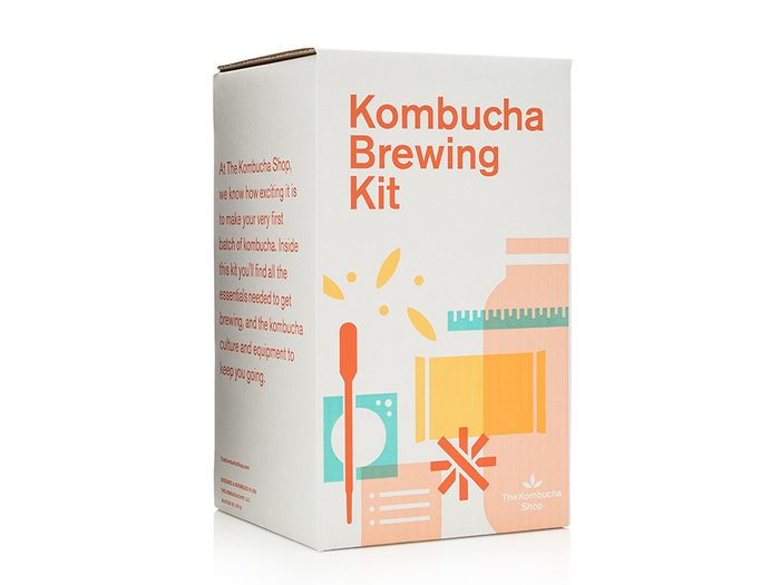 Komucha Brewing Kit   wellness gifts   best health gift guide