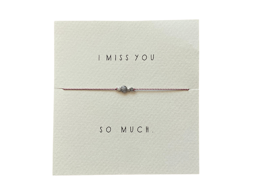 I Miss You bracelet | wellness gifts | best health gift guide