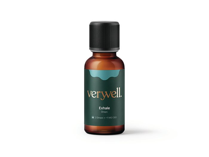 CBD drops Verwell exhale   wellness gifts   best health gift guide