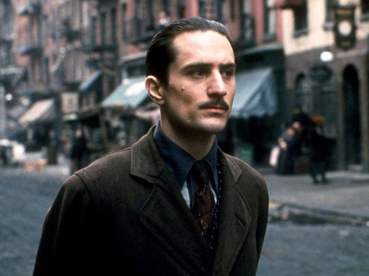 Robert De Niro in The Godfather Part II