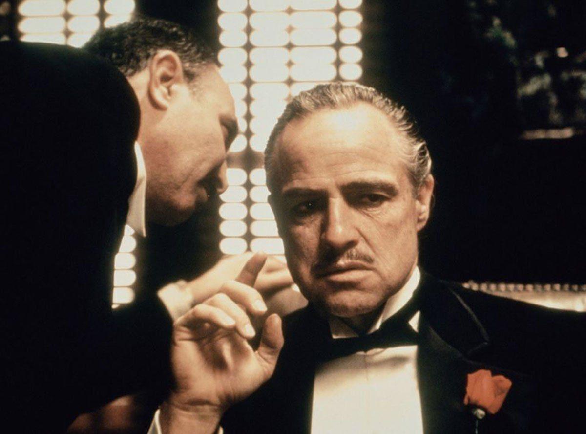 Marlon Brando in The Godfather