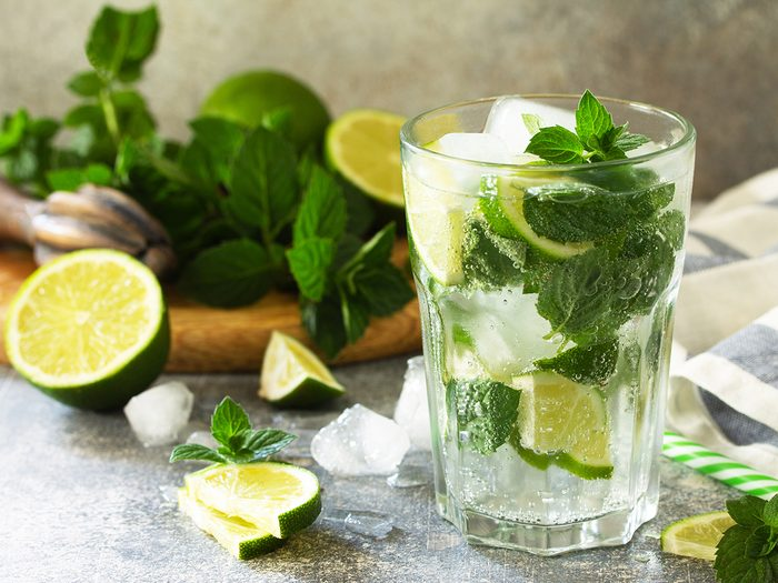 health benefits of lime water | flavoured water