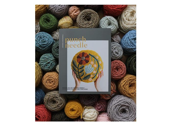 Punch Needle book  wellness gifts   best health gift guide