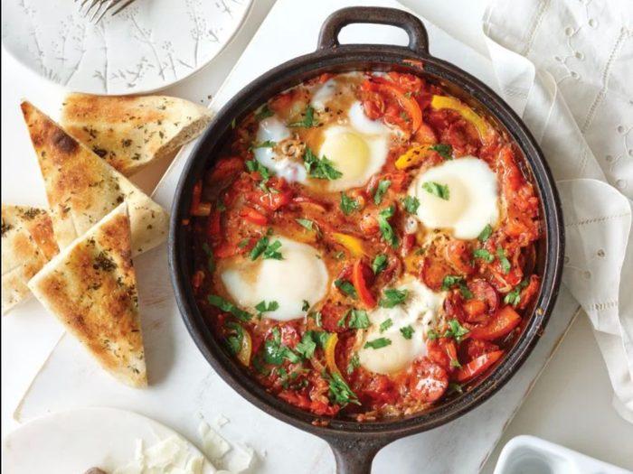 Spanish-style eggs