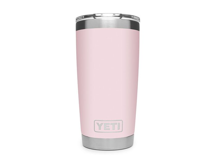 Yeti ice pink tumbler   wellness gifts   best health gift guide