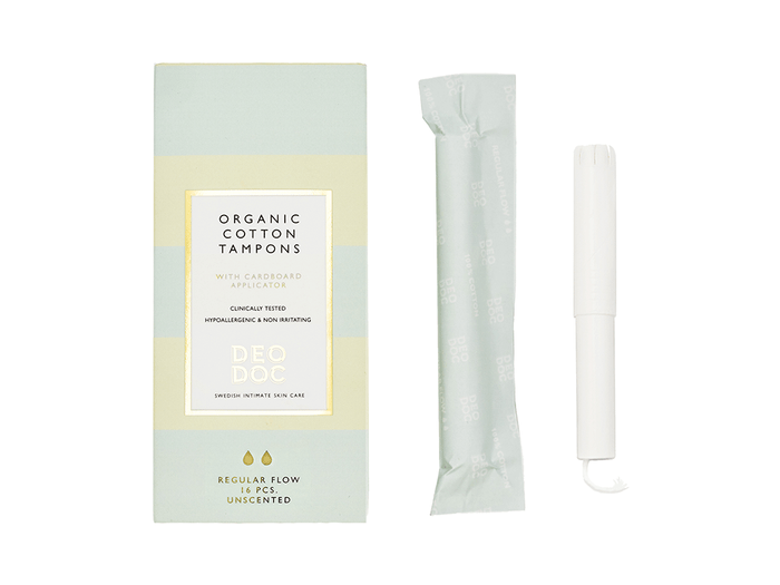 DeoDoc organic tampons | best toiletry items
