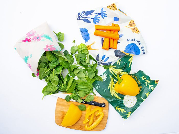 single-use plastic swap | sustainable upgrades eco-friendly home upgrades | Nature Bee Beeswax Wraps