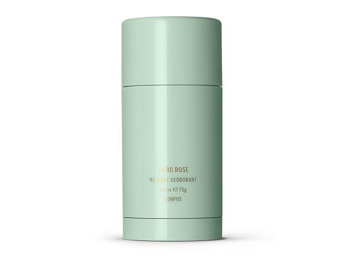 best toiletry items | Corpus Third Rose deodorant