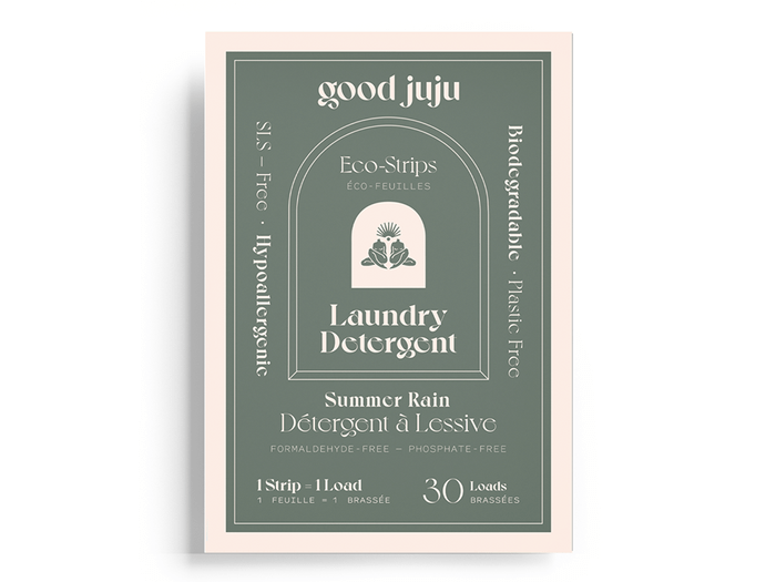 sustainable upgrades eco-friendly home upgrades | good juju laundry detergent strips