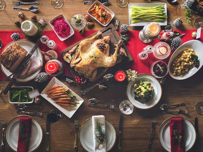 let go of holiday traditions | Christmas feast | holiday table