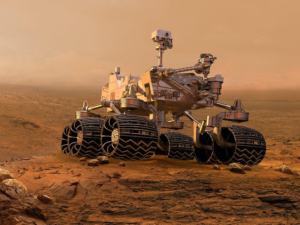 Mars Rover 2021