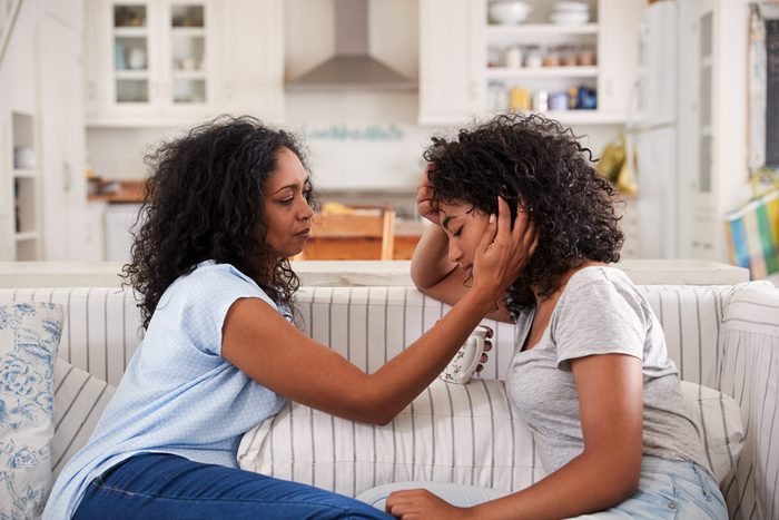 teen pre-life crisis | mom and teenage girl talking