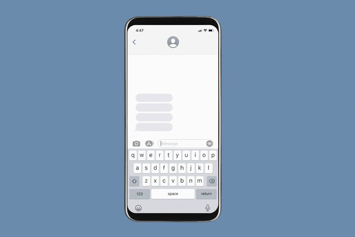 ghosting someone | image of a phone and ghosting someone