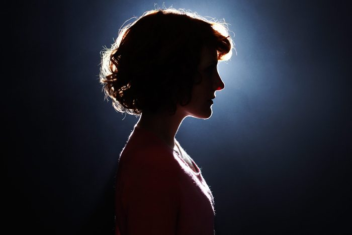 what is dissociation   Silhouette Of Young Woman