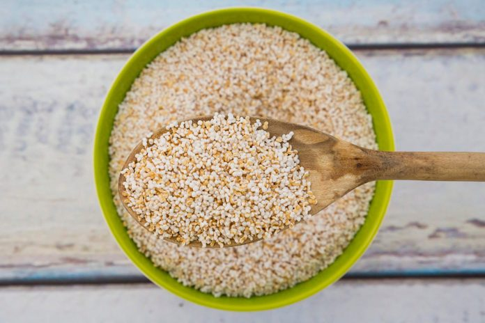 what- s amaranth | Popped Organic Amarant On Wood Spoon And In Bowl