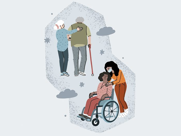 Caregivers Covid Hero