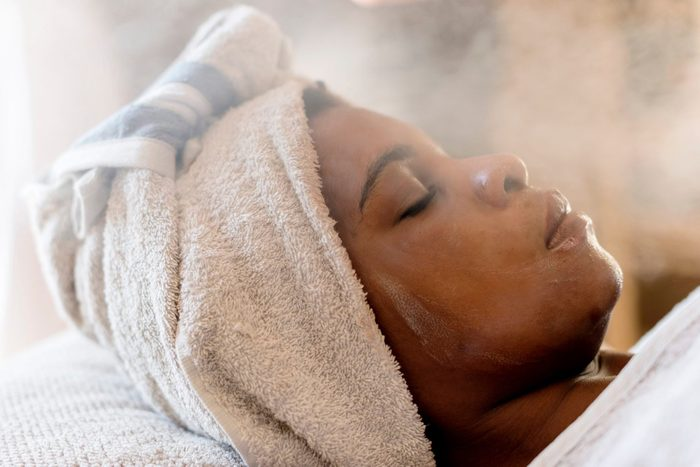 facial steamers   Steaming Treatment At The Spa