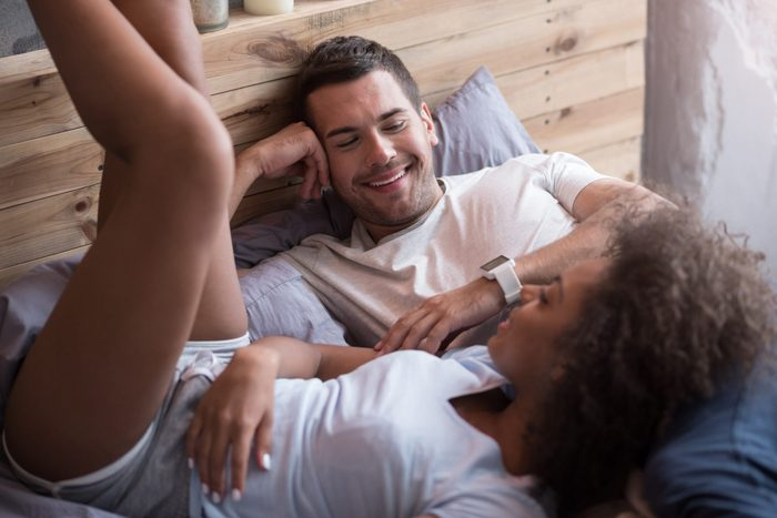 how to spice up your sex life | Happy,couple,talking,in,the,morning