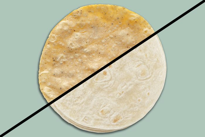 Corn Vs Flour Tortilla Split Screen Ft