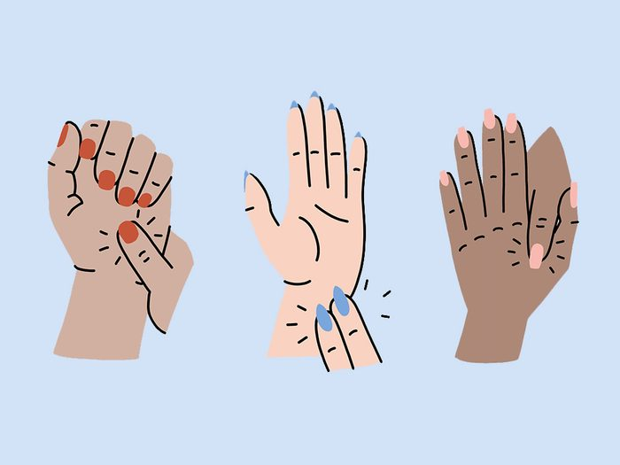 Hand Pressure Points Hero