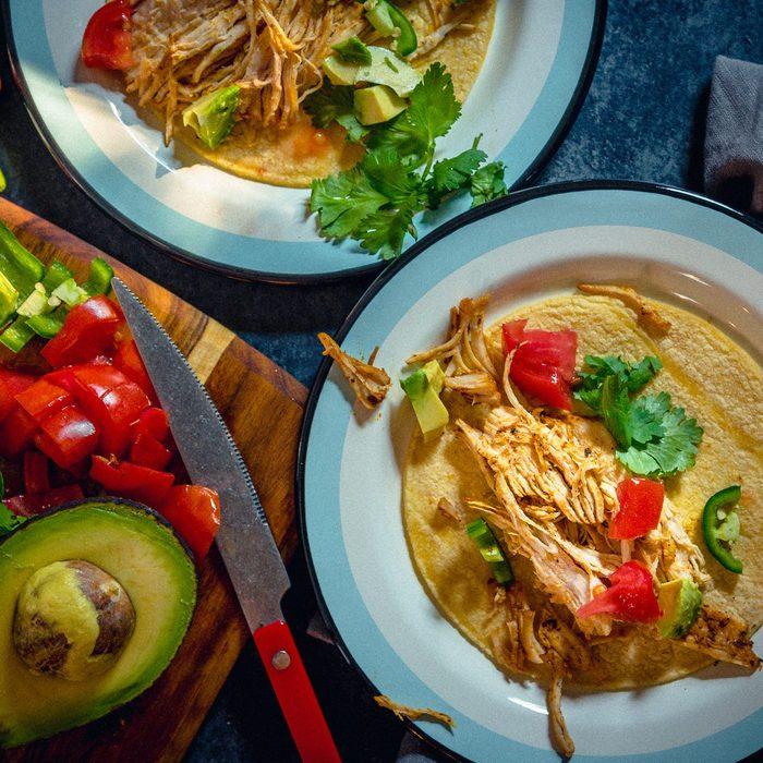 Instant Pot Easy Chicken Tacos Malenaperdomo
