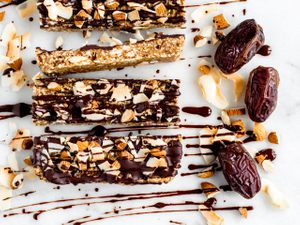 These Date-Coconut Energy Bars Are The Midday Pick-Me-Up You Need