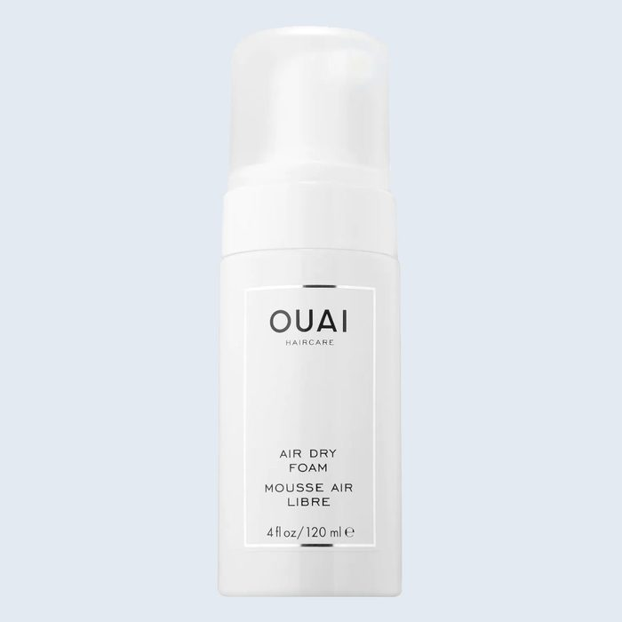 Ouai Air Dry Foam   products for frizzy hair